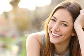 Cosmetic Dentistry - Smiling Young Woman
